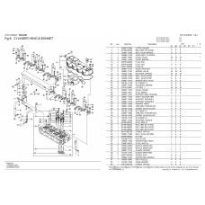 Головка блока цилиндров 4TNV98T-GGE