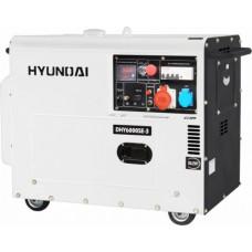 Дизель генератор Hyundai DHY 6000SE-3
