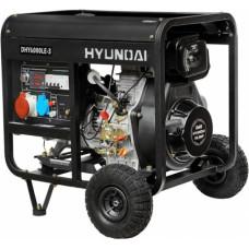 Дизель генератор Hyundai DHY 6000LE-3