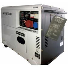 Дизель генератор Hyundai DHY 8500SE-3