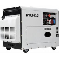 Дизель генератор Hyundai DHY 8000SE-3