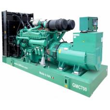 Дизель генератор GMGen Power Systems GMC700
