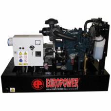 Дизель генератор Europower EP 123 DE