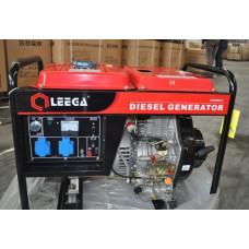 Дизель генератор Leega LDG 6500 СLE-3