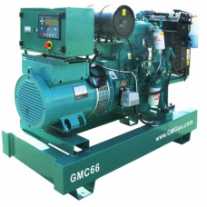Дизель генератор GMGen Power Systems GMC66
