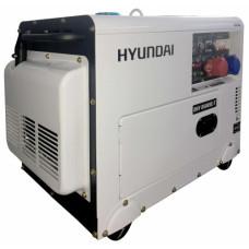 Дизель генератор Hyundai DHY 8500SE-T