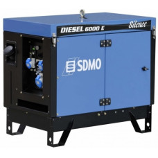 Дизель генератор SDMO DIESEL 6000 E SILENCE AVR
