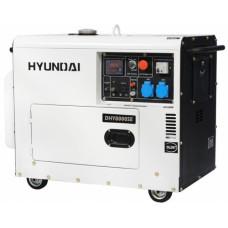 Дизель генератор Hyundai DHY 8000SE
