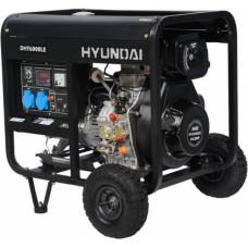 Дизель генератор Hyundai DHY 6000LE