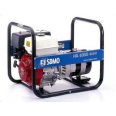Бензогенератор SDMO HX 6000 C (HX 6000 S)