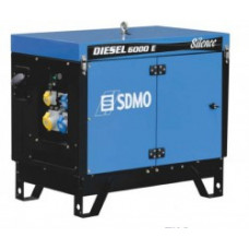 Дизель генератор SDMO DIESEL 6000 E SILENCE