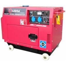 Дизель генератор Leega LDG 6500S с автозапуском