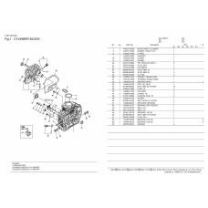 Блок цилиндров Yanmar L70N6